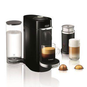 Nespresso Coffee VertuoPlus Deluxe with Aeroccino